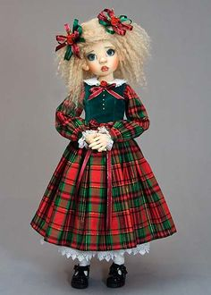 Picture I am in awe of Martha Boers lovely doll clothes.