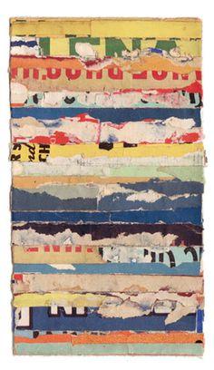 Collage, 'Intermezzo 63', Lisa Hochstein.