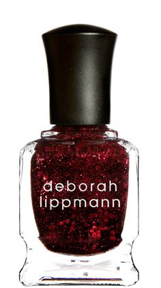 Ruby Red Slippers (glitter) by Deborah Lippman. I simply adore Lippman nail lacquer but at this price, you don't let your kids near it! ($18)