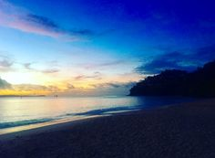 Sunrise on the beach at Cape Panwa Hotel and Spa - photo courtesy of Instagram and travelbug_london