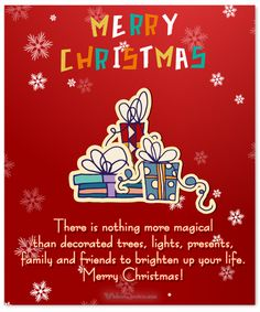 #ChristmasMessages #Friends #Family