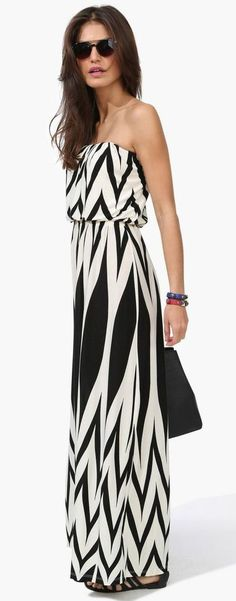 #Chevron #Maxi Dress #fashion #fashionista  #chic #fashionlove #outfit #dress  #style #stylish #lifestyle #ithrivehere #mysymphonyoflife