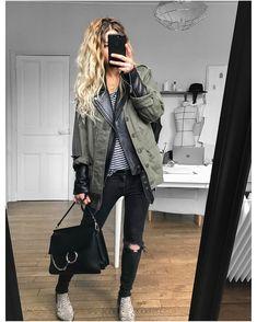 "3,684 Likes, 50 Comments - Mélanie Delhaye (@meleponym) on Instagram: ""#latergram tenue d'hier gilet #knitbyme top #isabelmarant (old) boyfriend cuir #Sandro (old) sac…"""