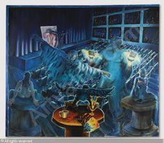 Jorg Immendorff, Versuchung des Heiligen Antonius (35-45k) 158,500 GBP