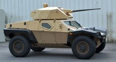 Panhard Crab Armored Scout Vehicle