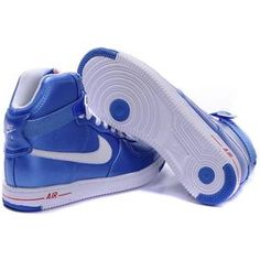 Buy Nike High Top Blue White For Womens Shoes Sale 1f0510126f1