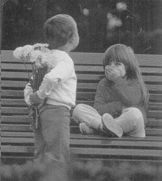 Foto niños graciosa