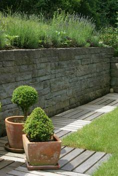 Rorschacher Sandstein, Schottischer Verband, Fugenklasse ll / #Trockenmauer  #Drystonewall #masonry