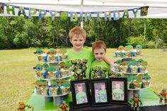 """Teenage Mutant Ninja Turtles / Birthday """"Carter & Clayton's Totally Awesome TMNT Birthday Party""""   Catch My Party"""