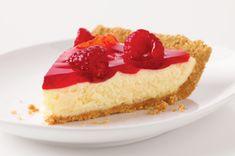 rasberry cheezecake pie
