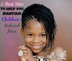 Some of the best online resources for tips on maintaining children's natural hair