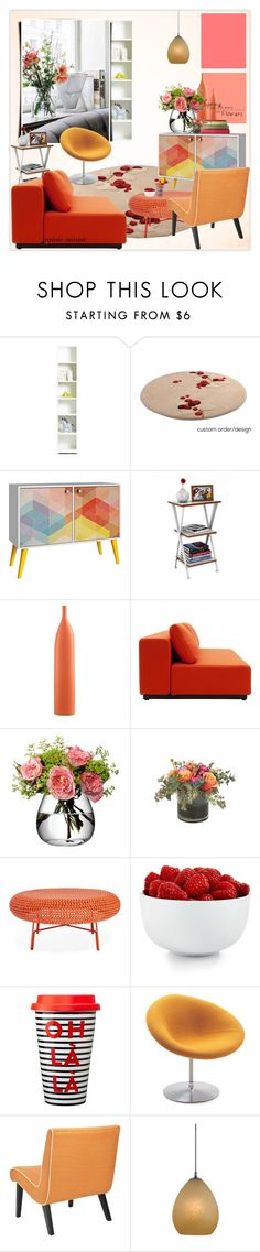 """Spring is coming"" by rainie-minnie ❤ liked on Polyvore featuring interior, interiors, interior design, home, home decor, interior decorating, Tvilum, Universal Lighting and Decor, Moe's Home Collection and LSA International"