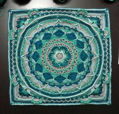 Project Gallery for Sophie's garden square (link to pattern) by Dedri Uys