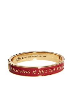 Enlarge Disney Couture Exclusive To ASOS Believing Is Just The Beginning Bangle