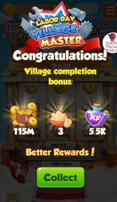 Labor Day, Free Rewards, Daily Rewards, Coin Master Hack, Miss You Gifts, New Tricks, Betta, Cheating, Spinning