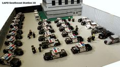 """LEGO LAPD """"Southeast - 18"""" Police Station"""