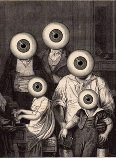 """The visual obsession ADE"" <<ADE is a French artist that there is no information anywhere. His works are based on old engravings and illustrations that are taken over and modified. Arte Horror, Horror Art, Creepy Art, Weird Art, Art And Illustration, Arte Inspo, Arte Cyberpunk, Arte Obscura, Occult Art"