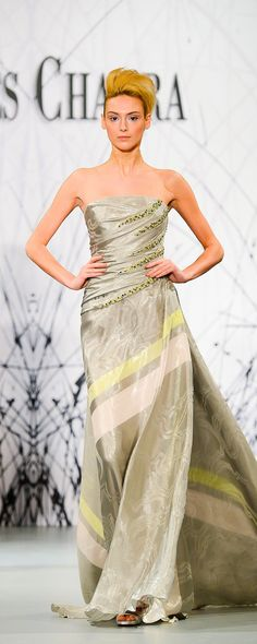 Georges Chakra Spring-summer 2014 - Couture - http://www.orientpalms.com/georges-chakra-4456