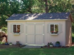 Premier PRO Tall Ranch 10 x 16 by TUFF SHED Storage Buildings & Garages, via Flickr
