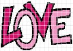 Love Crochet Graphghan Pattern (Chart/Graph AND Row-by-Row Written Instructions) - 02