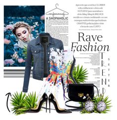 """""""Contest"""" by nejra-l ❤ liked on Polyvore featuring LE3NO and Christian Louboutin"""