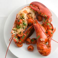 Lobster if you can afford it what a beautiful meal....find the best designer swimsuits out there SouthBeachSwimsuits.com