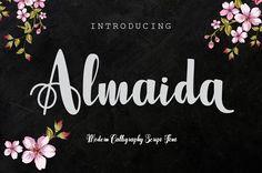 Almaida by jorsecreative on @creativemarket