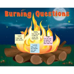 Burning Questions Poster- bought this poster