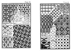 'Ornamental design' by Lewis F. Day uit 1898, plate 14 & 15