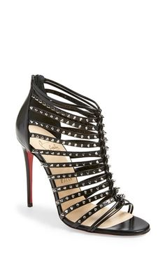 Christian Louboutin 'Millaclou' Studded Sandal available at #Nordstrom