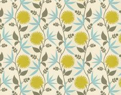 Thomas Paul Fabric: Dahlia/Aegean eclectic-upholstery-fabric