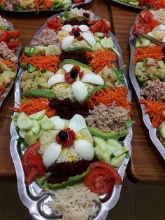 Fingers Food, Moroccan Salad, Party Food Platters, Ramadan Recipes, Food Decoration, Diet Food List, Snack, Food Presentation, Easy Cooking