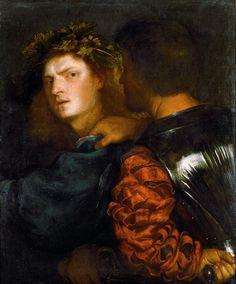 The Bravo, c.1515-20 by Titian Tiziano Vecellio (Italian, c.1488/90–1576)