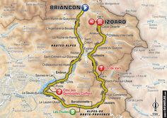 étape 18 - Briançon > Izoard - Tour de France 2017