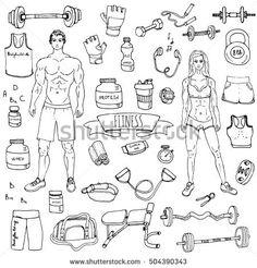 """Résultat de recherche d'images pour """"doodle fitness"""""""