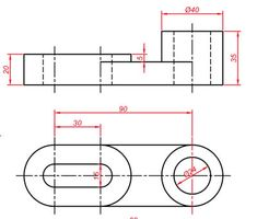 Mechanical Engineering Design, Mechanical Design, 3d Cad Models, Cad Drawing, Technical Drawing, Autocad, Drawings, Gabriel, Drawing Techniques