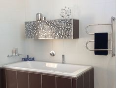 Need to warm up? Treat yourself to toasty towel warmth courtesy of the Jeeves Tangent Range of innovative heated towel rail designs which include shelf, swiveling and freestanding heated towel rails. Heated Towel Rail, Corner Bathtub, Sink, Shelves, Bathroom, Towels, Choices, Range, Warm