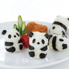 Baby Panda Onigiri Set