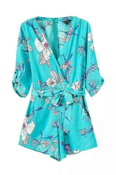 Blue Passion Romper, would look excellent with a tan ; )