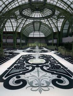 Multiversos de Tinta | rouskilla: French garden inside the Grand...
