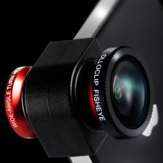Olloclip 3-in-1 Photo Lens for iPhone 5, iFilmGear