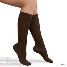 2f95f5a3c6d Womens Knee High Compression Stocking (15-20 mm Hg Compression)