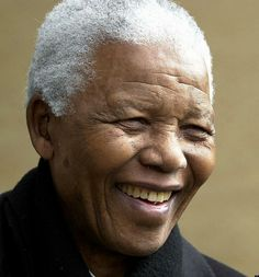 Nelson Mandela--a historic figure in the struggle for peace & equality.