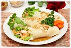 Shrimp and Tofu Lumpiang Sariwa, Spring Rolls, Filipino Recipes, Pinoy Recipes, Pinay in Texas
