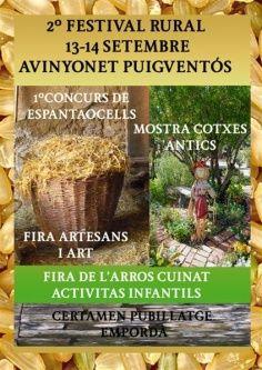 2n FESTIVAL RURAL ( Avinyonet de Puigventós)