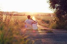 Love between two people.