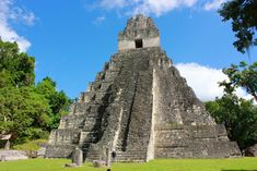 Tikal Maya Ruins is perhaps one of Guatemala's top attractions. Located in the Peten Region of Guatemala, Tikal is an early classic to late classic Maya City. Here are 12 surprising things about Tikal. Belize All Inclusive, Belize Vacations, Belize Travel, Tikal, San Ignacio Belize, Belize Tours, Maya Civilization, Ancient Greek Architecture, Gothic Architecture