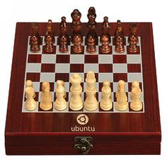 5th Anniversary Wood - Personalized Chess Set in Rosewood Box