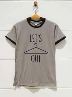 S M L XL  Lets Hang Out Tshirts Graphic Tshirts Teen by monopoko