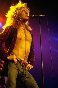 Robert Plant photographed by Richard E. Aaron, 1977